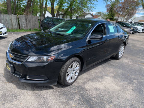 2018 Chevrolet Impala for sale at PAPERLAND MOTORS - Fresh Inventory in Green Bay WI