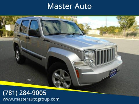 2011 Jeep Liberty for sale at Master Auto in Revere MA