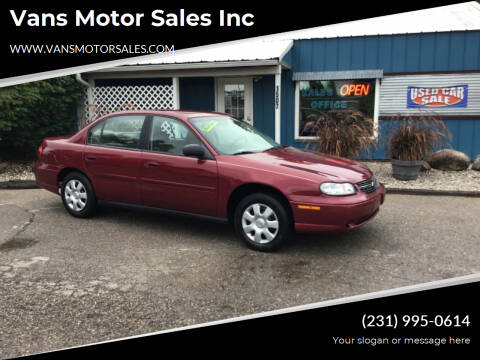 2004 Chevrolet Classic for sale at Vans Motor Sales Inc in Traverse City MI