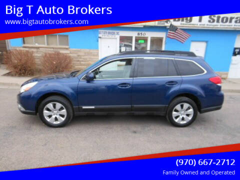 2011 Subaru Outback for sale at Big T Auto Brokers in Loveland CO