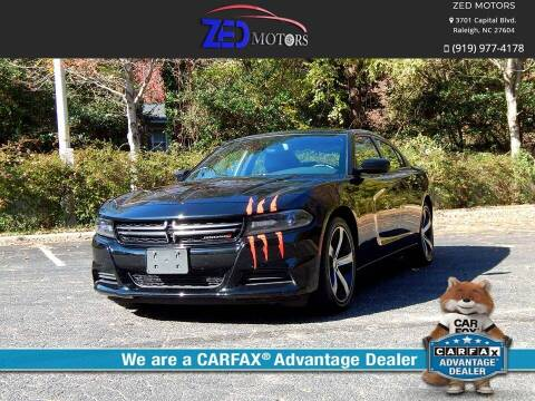 2017 Dodge Charger for sale at Zed Motors in Raleigh NC