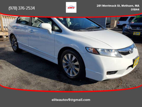 2009 Honda Civic for sale at ELITE AUTO SALES, INC in Methuen MA