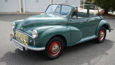 1952 Morris Minor Tourer Convertible for sale at Fiore Motors, Inc.  dba Fiore Motor Classics in Old Bethpage NY