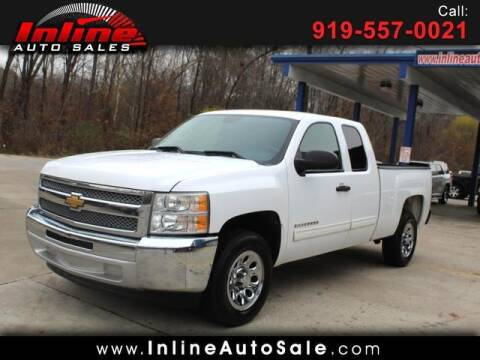 2012 Chevrolet Silverado 1500 for sale at Inline Auto Sales in Fuquay Varina NC
