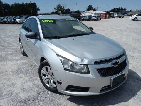 2014 Chevrolet Cruze for sale at Canyon View Auto Sales in Cedar City UT
