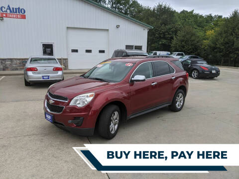 2012 Chevrolet Equinox for sale at AmericAuto in Des Moines IA