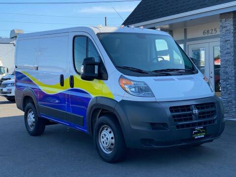 2014 RAM ProMaster Cargo for sale at Lux Motors in Tacoma WA