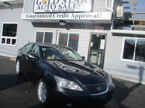 2007 Lexus ES 350 for sale at Gold Star Auto Sales in Johnston RI