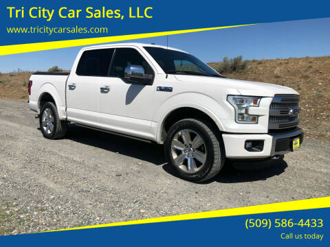 2015 Ford F-150 for sale at Tri City Car Sales, LLC in Kennewick WA