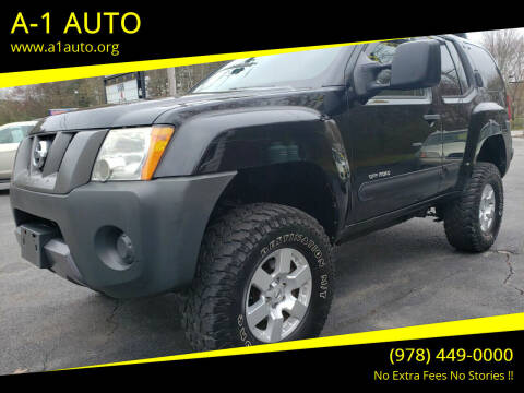 2008 Nissan Xterra for sale at A-1 Auto in Pepperell MA