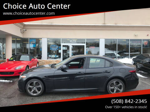2017 Alfa Romeo Giulia for sale at Choice Auto Center in Shrewsbury MA