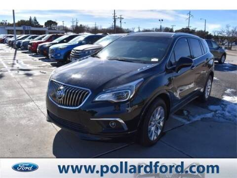 2017 Buick Envision for sale at South Plains Autoplex by RANDY BUCHANAN in Lubbock TX
