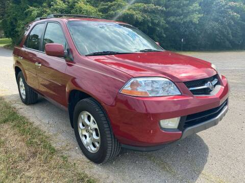 2002 Acura MDX for sale at Tennessee Valley Wholesale Autos LLC in Huntsville AL