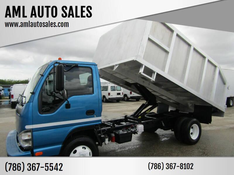 2006 Isuzu NPR for sale at AML AUTO SALES - Dump Trucks in Opa-Locka FL