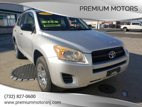 2010 Toyota RAV4 for sale at Premium Motors in Rahway NJ