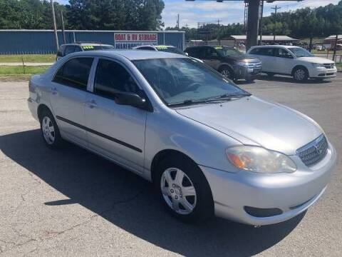 2006 Toyota Corolla for sale at Greenbrier Auto Sales in Greenbrier AR