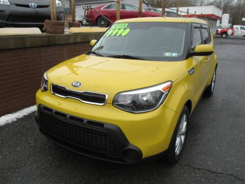 2015 Kia Soul for sale at WORKMAN AUTO INC in Pleasant Gap PA