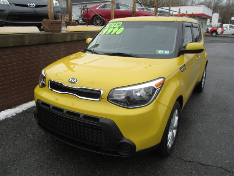 2015 Kia Soul for sale at WORKMAN AUTO INC in Pleasant Gap PA