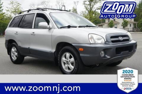 2006 Hyundai Santa Fe for sale at Zoom Auto Group in Parsippany NJ