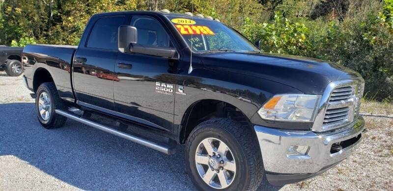 2014 RAM Ram Pickup 2500 for sale at COOPER AUTO SALES in Oneida TN