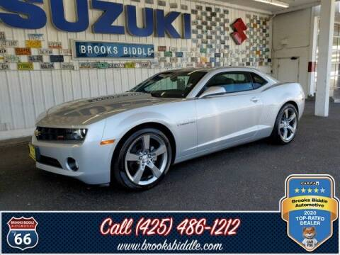 2011 Chevrolet Camaro for sale at BROOKS BIDDLE AUTOMOTIVE in Bothell WA