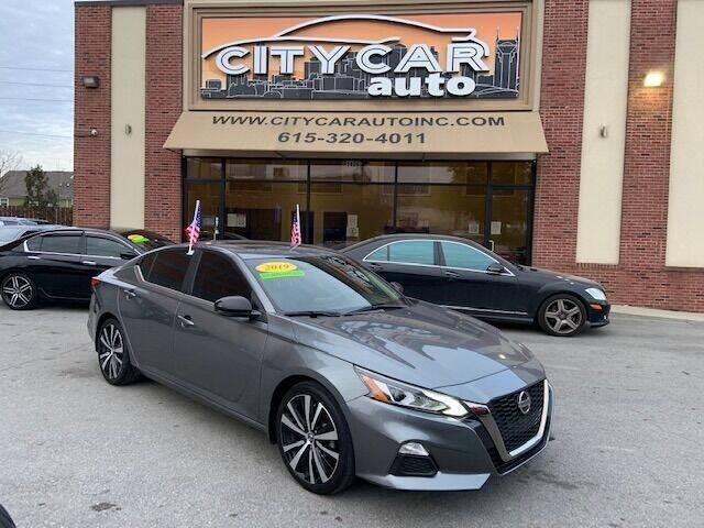 2019 Nissan Altima for sale at CITY CAR AUTO INC in Nashville TN
