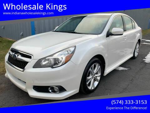 2013 Subaru Legacy for sale at Wholesale Kings in Elkhart IN