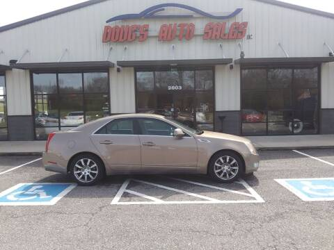 2008 Cadillac CTS for sale at DOUG'S AUTO SALES INC in Pleasant View TN