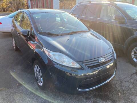 2011 Ford Fiesta for sale at ENFIELD STREET AUTO SALES in Enfield CT