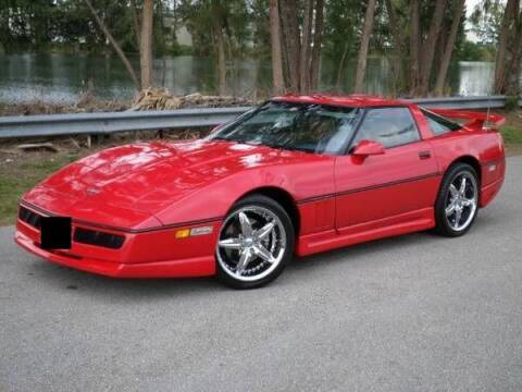 1989 Chevrolet Corvette for sale at Haggle Me Classics in Hobart IN