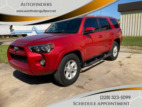 2015 Toyota 4Runner for sale at Autofinders in Gulfport MS