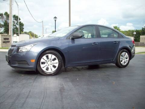 2013 Chevrolet Cruze for sale at Whitney Motor CO in Merriam KS