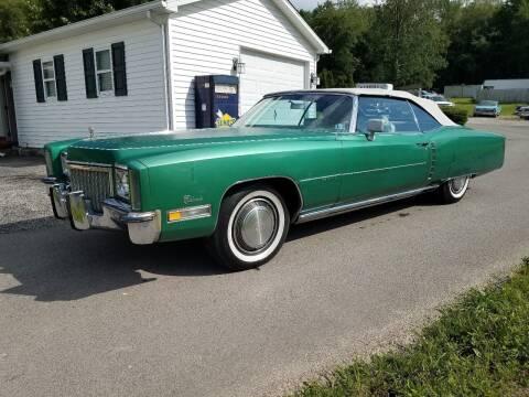 1972 Cadillac Eldorado for sale at STARRY'S AUTO SALES in New Alexandria PA