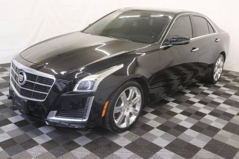 2014 Cadillac CTS for sale at AH Ride & Pride Auto Group in Akron OH