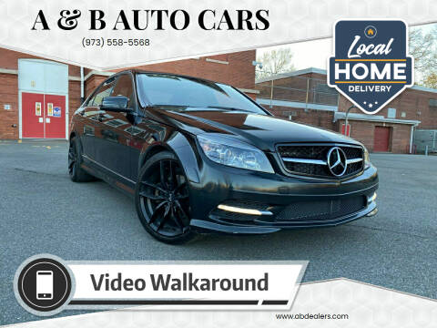 2011 Mercedes-Benz C-Class for sale at A & B Auto Cars in Newark NJ