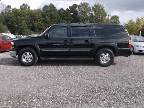 2002 Chevrolet Suburban for sale at Car Check Auto Sales in Conway SC