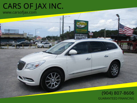 2014 Buick Enclave for sale at CARS OF JAX INC. in Jacksonville FL