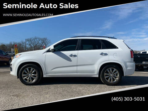 2013 Kia Sorento for sale at Seminole Auto Sales in Seminole OK
