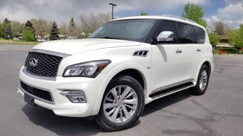 2016 Infiniti QX80 for sale at LA Motors LLC in Denver CO
