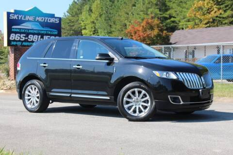 2013 Lincoln MKX for sale at Skyline Motors in Louisville TN