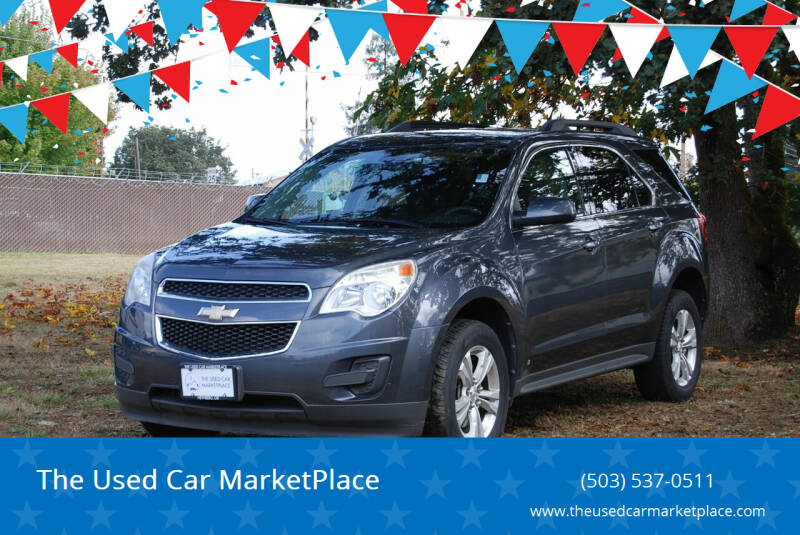 2010 Chevrolet Equinox for sale at The Used Car MarketPlace in Newberg OR