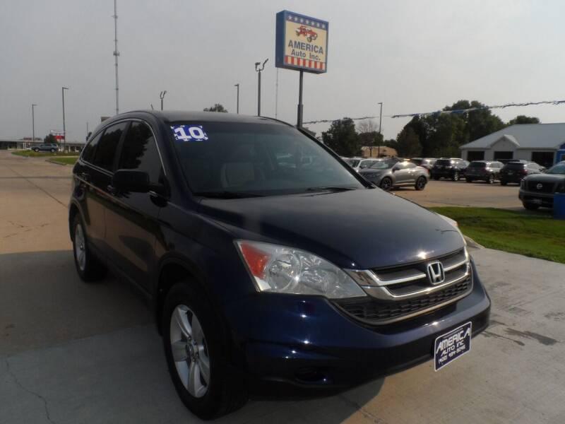 2010 Honda CR-V for sale at America Auto Inc in South Sioux City NE