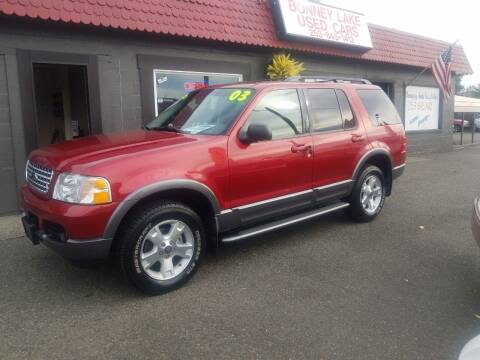 2003 Ford Explorer for sale at Bonney Lake Used Cars in Puyallup WA