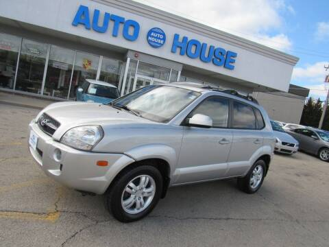 2008 Hyundai Tucson for sale at Auto House Motors in Downers Grove IL