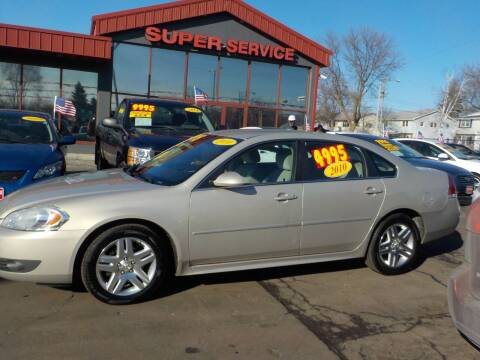 2010 Chevrolet Impala for sale at Super Service Used Cars in Milwaukee WI