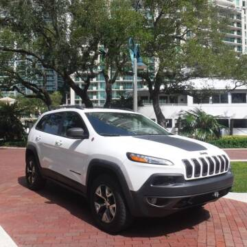 2017 Jeep Cherokee for sale at Choice Auto in Fort Lauderdale FL