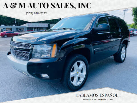 2009 Chevrolet Tahoe for sale at A & M Auto Sales, Inc in Alabaster AL
