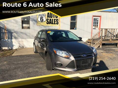 2014 Ford Focus for sale at Route 6 Auto Sales in Portage IN