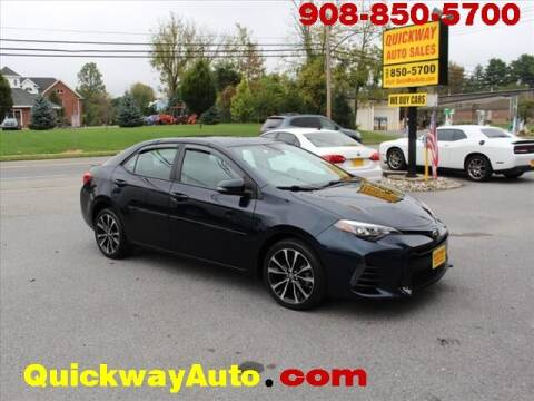 2017 Toyota Corolla for sale at Quickway Auto Sales in Hackettstown NJ