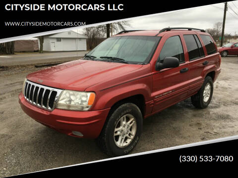 2002 Jeep Grand Cherokee for sale at CITYSIDE MOTORCARS LLC in Canfield OH